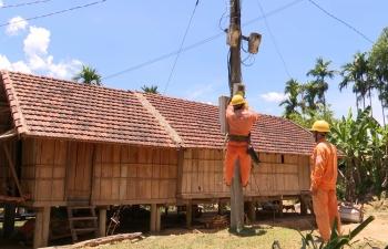 Những đổi thay ở Sơn Ba từ khi có điện