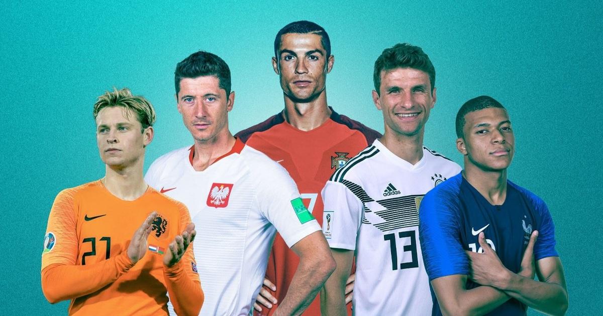 """""""Ông lớn"""" nào sở hữu đội hình khủng nhất Euro 2020?"""
