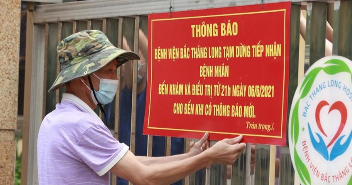 Người bán rau dương tính, Hà Nội phong tỏa khu dân cư và bệnh viện