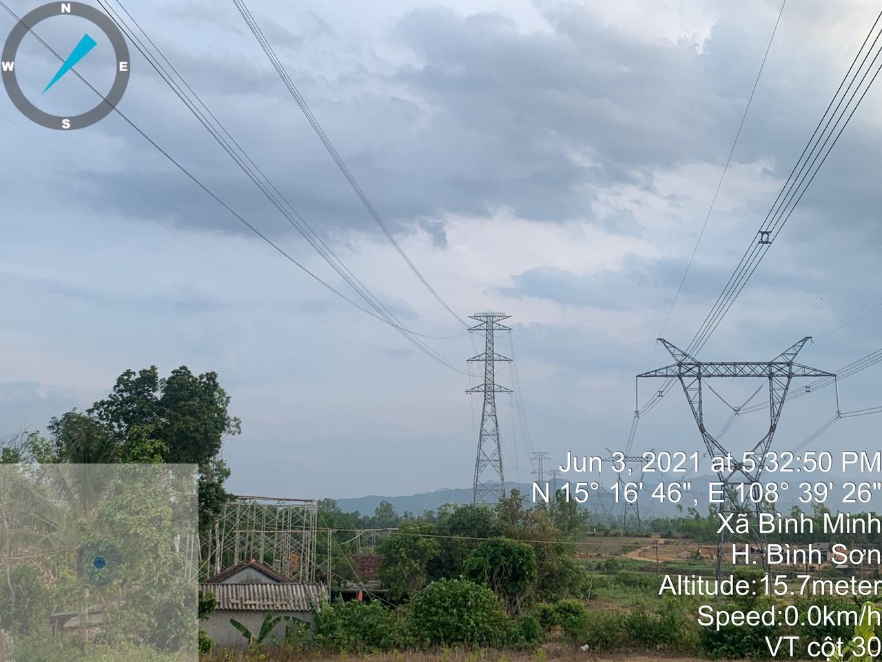 Dự án đường dây 500kV mạch 3 đoạn Dốc Sỏi – Pleiku 2 trên đường về đích