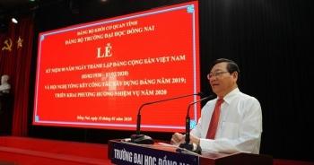 Thu chi sai hàng chục tỉ đồng, hiệu trưởng Đại học Đồng Nai bị cắt chức