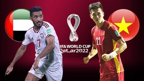Xem trực tiếp UAE vs Việt Nam ở đâu?