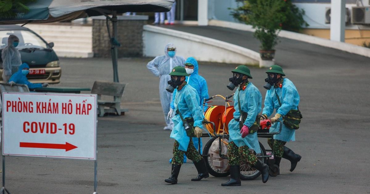 60 nhân viên BV Bệnh Nhiệt đới dương tính SARS-CoV-2, nguồn lây từ ngoài