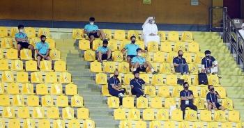 HLV Park Hang Seo hò hét, giục đội tuyển Việt Nam tấn công UAE