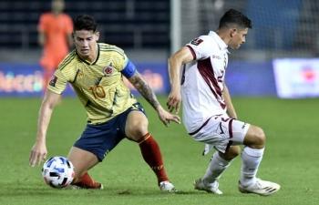 Link xem trực tiếp Colombia vs Venezuela (Copa America 2021), 4h ngày 18/6