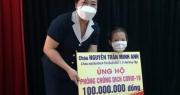 Bé gái 5 tuổi dùng 100 triệu tiền tiết kiệm ủng hộ quỹ phòng, chống dịch