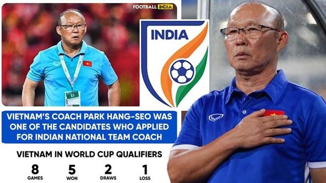Báo Thái Lan nói gì về thông tin tuyển Ấn Độ muốn mời HLV Park Hang Seo? - 1