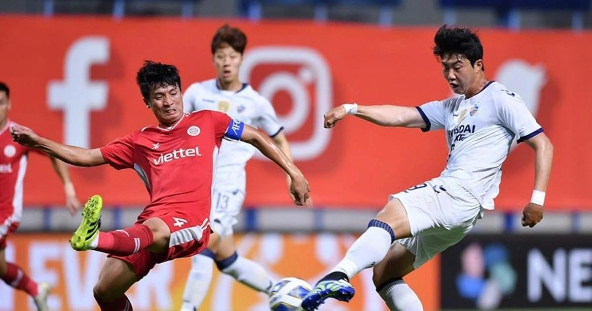 CLB Viettel suýt gây sốc trước Ulsan Hyundai tại AFC Champions League