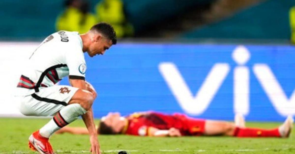 Nỗi đau cùng cực của C.Ronaldo khi Bồ Đào Nha bị loại ở Euro 2020