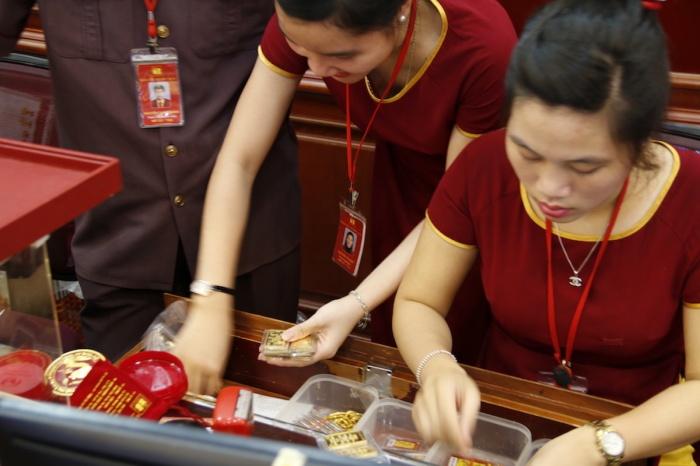 vang la tai san khong phai phuong tien luu thong nhu tien