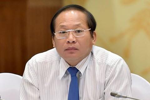 Tạm đình chỉ công tác Bộ trưởng TT&TT Trương Minh Tuấn