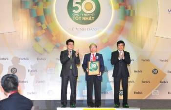 vietinbank duoc vinh danh top 50 cong ty niem yet tot nhat viet nam 2018