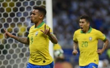 brazil 2 0 argentina jesus firmino dua doi chu nha vao chung ket