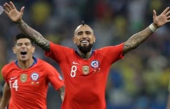 Xem trực tiếp Chile vs Peru (Copa America), 7h30 ngày 4/7