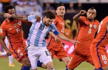 Link xem trực tiếp Argentina vs Chile (Copa America), 2h ngày 7/7