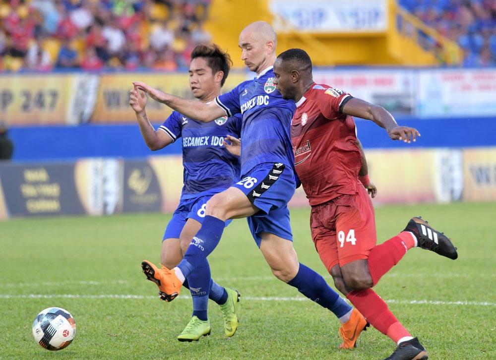 Vòng 15 V-League 2019: Xem trực tiếp bóng đá TP.HCM vs Bình Dương ở đâu?