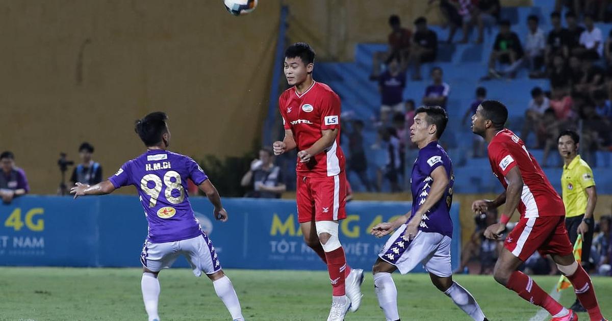 Quang Hải vắng mặt, CLB Hà Nội chia điểm với CLB Viettel