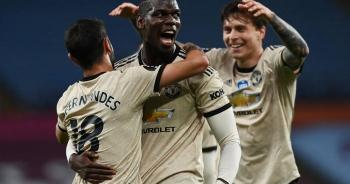 Aston Villa 0-3 Man Utd: Fernandes, Greenwood và Pogba lập công