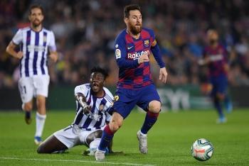 Vòng 36 La Liga 2019/2020: Xem trực tiếp Valladolid vs Barcelona ở đâu?