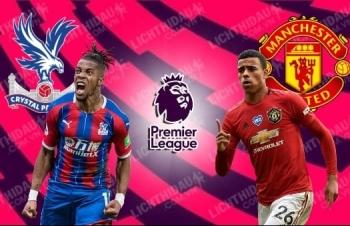 Xem trực tiếp Crystal Palace vs Man Utd ở đâu?