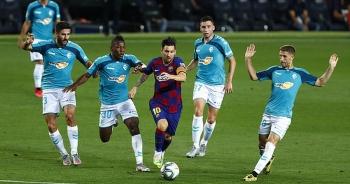 Messi ghi bàn, Barcelona vẫn thua đau trong ngày Real Madrid vô địch