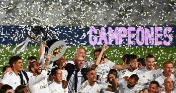 Benzema lập cú đúp, Real Madrid vô địch La Liga lần thứ 34