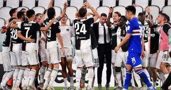 C.Ronaldo lập công, Juventus chính thức vô địch Serie A