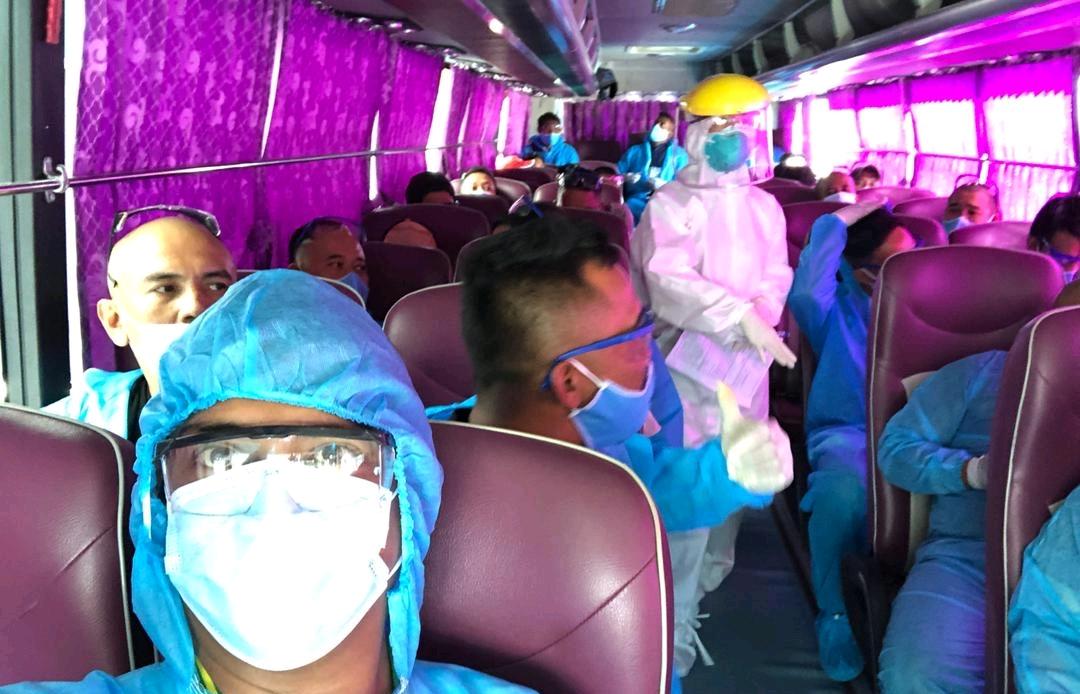 BSR tiếp tục đón chuyên gia phục vụ BDTT NMLD Dung Quất lần 4