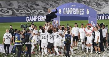 Vô địch La Liga, Real Madrid dẫn đầu danh sách CLB đắt giá nhất thế giới