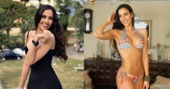Gương mặt thiên thần và thân hình gợi cảm của tân Hoa hậu Hoàn vũ Venezuela
