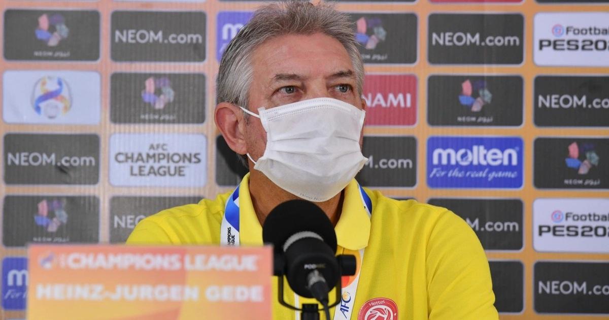 CLB Viettel sớm dừng bước ở AFC Champions League, HLV Gede nói gì?