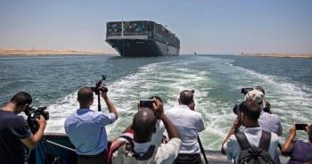 """Ai Cập mở tiệc tiễn siêu tàu Ever Given sau thỏa thuận bồi thường """"khủng"""""""