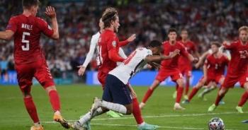 """""""Quả phạt đền tưởng tượng khiến Đan Mạch rời cuộc chơi cay đắng"""""""