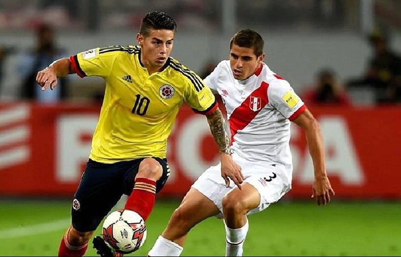 Xem trực tiếp Colombia vs Peru ở đâu?