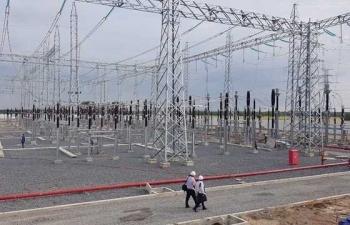 EVNSPC về đích trước 2 tháng công trình điện giải tỏa nguồn năng lượng gió
