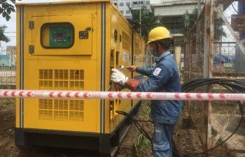 EVNHCMC khẩn trương cấp điện cho 2 bệnh viện dã chiến xây dựng mới