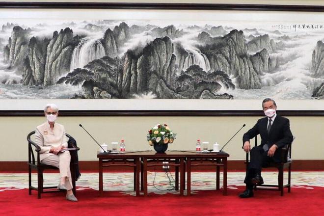 Trung Quốc vạch 3 lằn ranh đỏ với Mỹ trong cuộc họp căng thẳng - 1