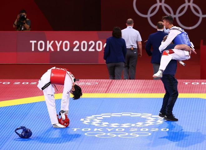 Báo chí thế giới sốc khi Taekwondo Hàn Quốc trắng HCV tại Olympic 2020 - 2