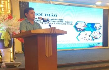 vietinbank quang ninh dong hanh cung doanh nghiep sieu vi mo ho kinh doanh
