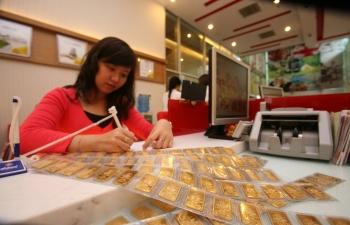 Giá vàng có thể giảm xuống mức 32 triệu đồng/lượng