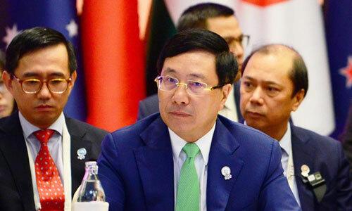 Các ngoại trưởng Đông Á bày tỏ quan ngại về tình hình Biển Đông