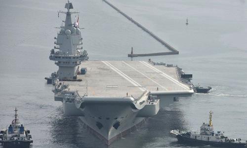 Tàu sân bay nội địa Trung Quốc sắp chạy thử tốc độ tối đa