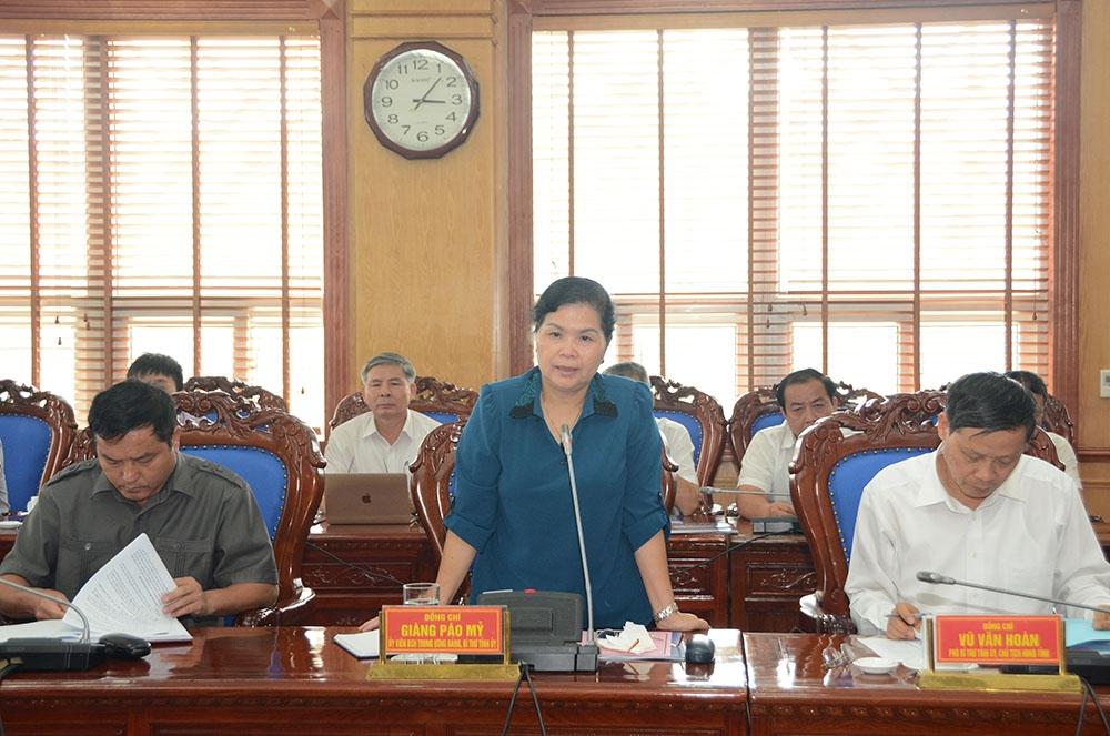 Chủ tịch HĐTV EVN làm việc với lãnh đạo tỉnh Lai Châu