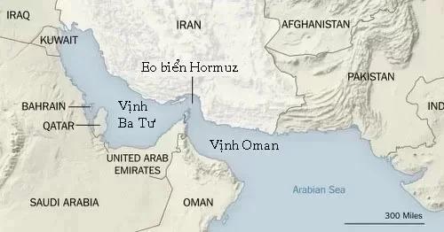 Tàu sân bay Mỹ gần Iran