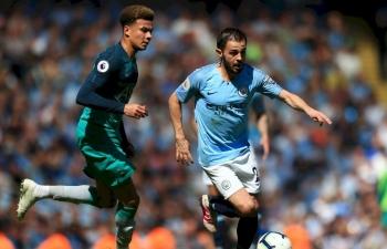 Vòng 2 Ngoại hạng Anh 2019 - 2020: Xem trực tiếp bóng đá Man City vs Tottenham ở đâu?