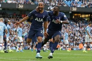 Tottenham buộc Man City chia điểm