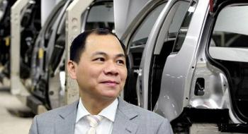 Lần đầu trong lịch sử: Tài sản của ông Phạm Nhật Vượng vượt 10 tỷ USD