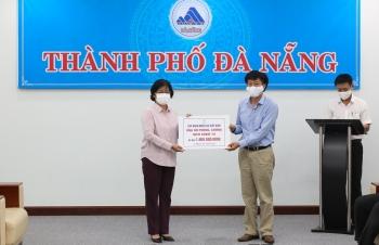 EVN ủng hộ Thành phố Đà Nẵng 1 tỷ đồng phục vụ công tác phòng chống dịch COVID-19