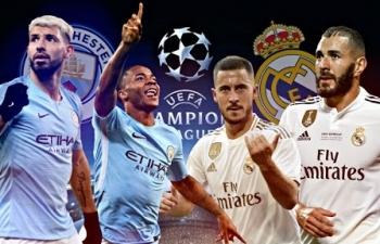 Xem trực tiếp Man City vs Real Madrid ở đâu?