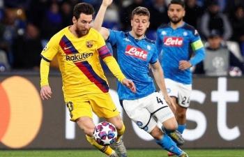 Link xem trực tiếp Barcelona vs Napoli (Cup C1 Châu Âu), 2h ngày 9/8